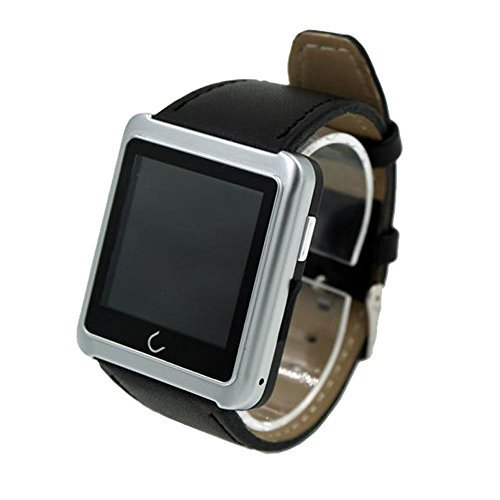 Vktech-Smarwatch-Impermable-Bluetooth-Pulsera-Inteligente-para-Moviles-Android-IOS-Plateado-0-1