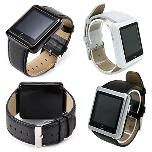 Vktech-Smarwatch-Impermable-Bluetooth-Pulsera-Inteligente-para-Moviles-Android-IOS-Plateado-0-2